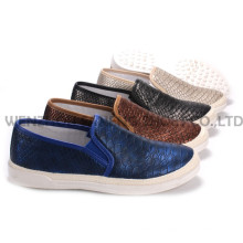 Women′s Shoes Leisure PU Shoes with Rope Outsole Snc-55006