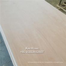 madera contrachapada de la chapa de Okoume y de Bingtangor para el precio de los muebles Indonesia