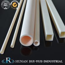 Industrielle keramische Herstellung 95% 99% 99.5% 99.7% Al2O3 Tonerde Keramikrohr