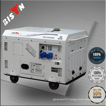 BISON China Taizhou 10 KW 10kva Portable AC Three Phase 10KVA Sound Proof Generators