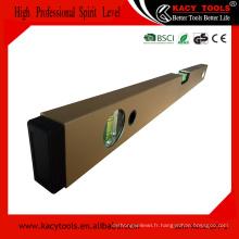 High professionnel amplifié vial aluminium construction instrument esprit niveau
