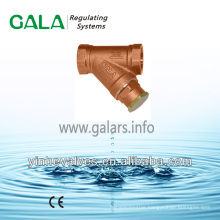 Bronze Strainer Y-Strainer Threaded Strainer