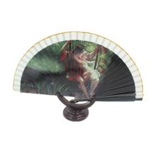 Promotion und Stoff dekorative große Handfächer