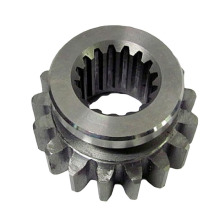 Steel Billet Machined Spline Gear med nav