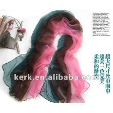 ¡Precio de fábrica, venta al por mayor de las ventas de la bufanda de SEDA del mantón!
