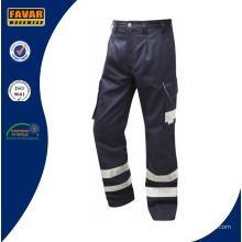 Оптовые дешевые мужские брюки из полихлопка с боковыми карманами