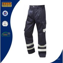 Pantalon Cargo wholesale Cheap Mens Polycotton avec poches latérales