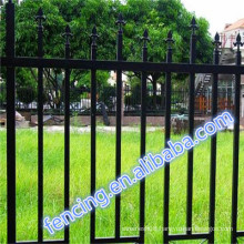 Hot sale United States Park/Sightseeing zone rust protection Bar Fence QYM ISO9001
