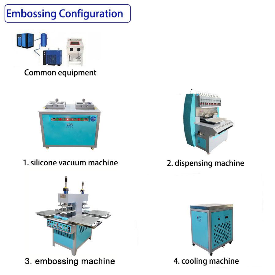 semi-embossingmachine line