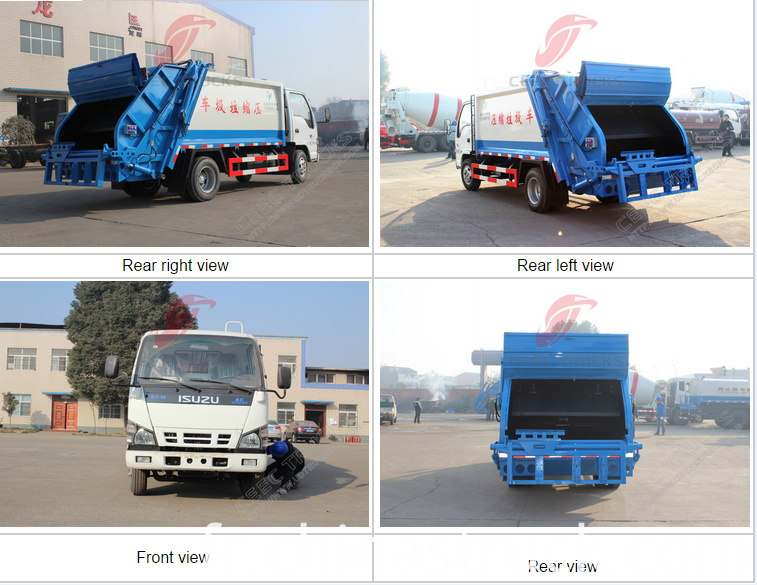ISUZU 5Ton garbage collection vehicle