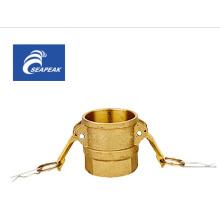 Brass Camlock Coupling Type D