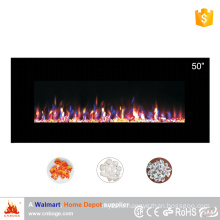 """2016 new design 50"""" wall mounted electric fireplace heater"""
