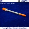 Disposable 1cc Insulin Syringes 0.5cc Insulin Syringes 0.3cc Insulin Syringes (ENK-YDS-040)