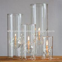 Lampe à huile en verre borosilicate de taille différente