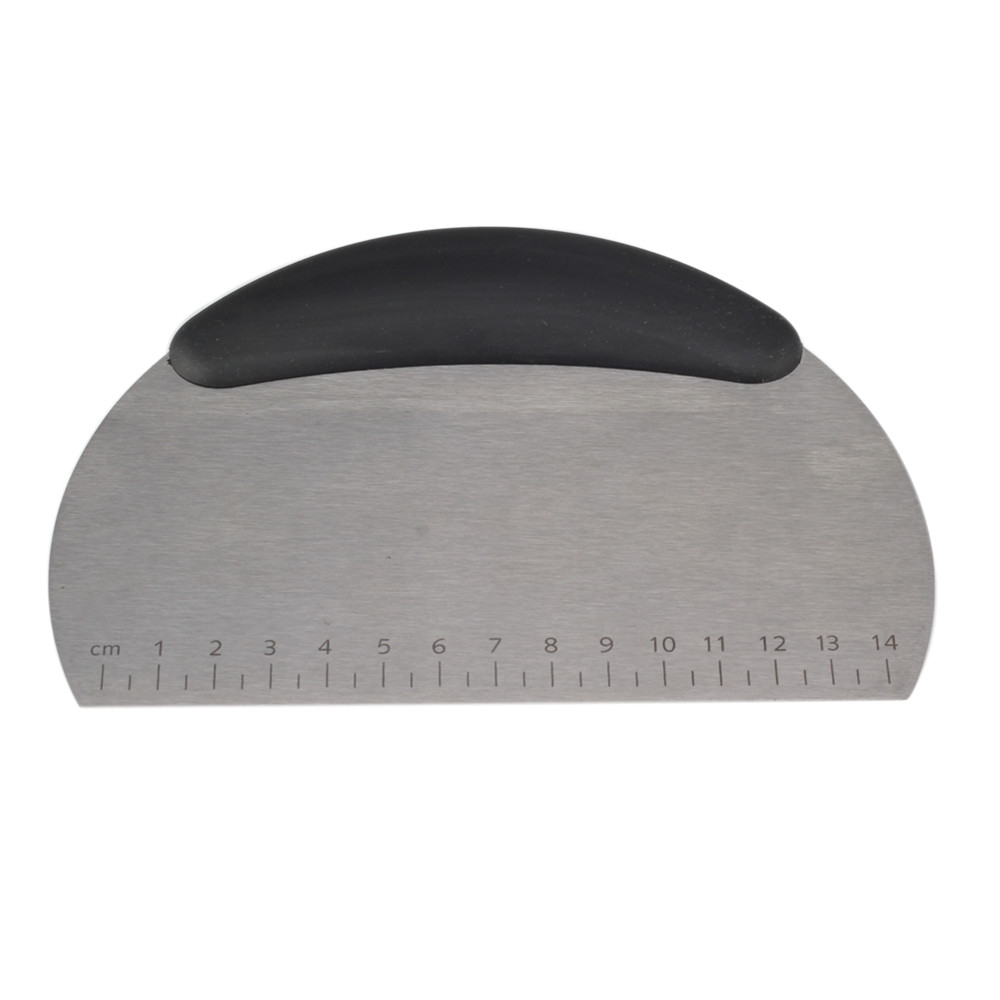 Black Rubber Handle Dough Cutter