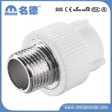 Tipo masculino do adaptador de PPR D que cabe para materiais de construção