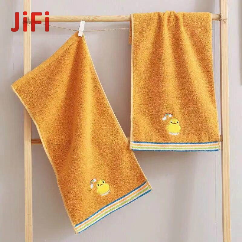 Kids Baby Hot Selling Pretty Design Soft Cotton Face Towel 01