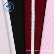 Striped jersey knit rayon spandex fabric