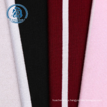 Striped jersey knit rayon spandex fabric
