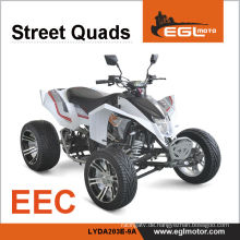EEC 250cc Street Racing Atv Legal unterwegs