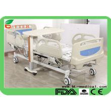 Lit d'hôpital électrique complet à 5 fonctions pour hôpital