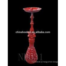 Hookah de liga de zinco / shisha vermelho / nargile / narghile / hookah novo NP031