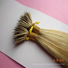 wholesale hair Russian nano ring wholesale hair extension Piano color human hair weave