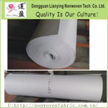 Aguja de poliéster calentada perforada delgada almohadilla de colchón de fieltro duro