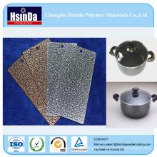 Hochtemperatur-beständige hybride Spray-Pulver-Beschichtungs-Farbe für Soße-Topf