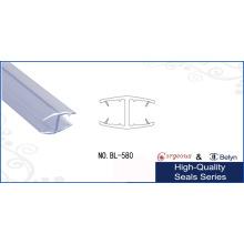 PVC Transparente de vidrio borde / Umbral Puerta Franja