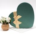 Heart shape 55 packs chocolate paper box