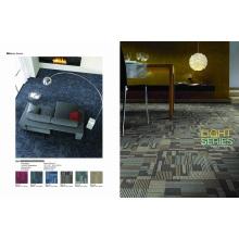 Azulejo de alfombra comercial PP con respaldo de PVC