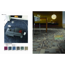 PP Commercial Carpet Tile with PVC Backing
