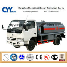 New China LNG Liquid Oxygen Nitrogen Argon Tank Car Semi Trailer