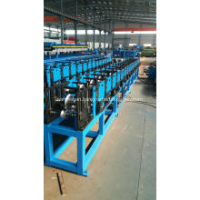 Rain gutter forming machinery without electrical components