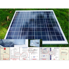 40wp ~ 300wp SASO Zertifikat Monokristallines / polykristallines Sillicon Solarmodul für PV Modul mit Solarmodul