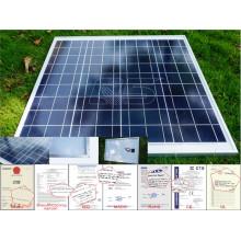 Certificado SASO 40wp ~ 300wp Painel solar monocristalino / policristalino Sillicon para módulo fotovoltaico com módulo solar