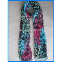 Леди шарф, печатный шарф, шар из палятины