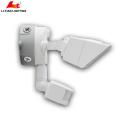 el color de bronce y blanco llevó la iluminación exterior de la luz de la pared de la seguridad al aire libre con el sensor de movimiento