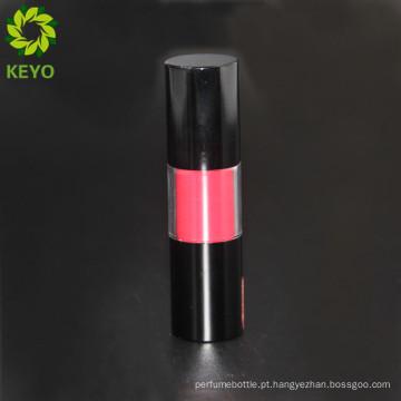 Venda quente luxo claro vazio embalagem de cosméticos tubo de brilho labial