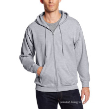 Men′s Full-Zip Fleece Hoodie