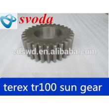 heavy dump truck terex tr100 sun gear 15238317/15019484