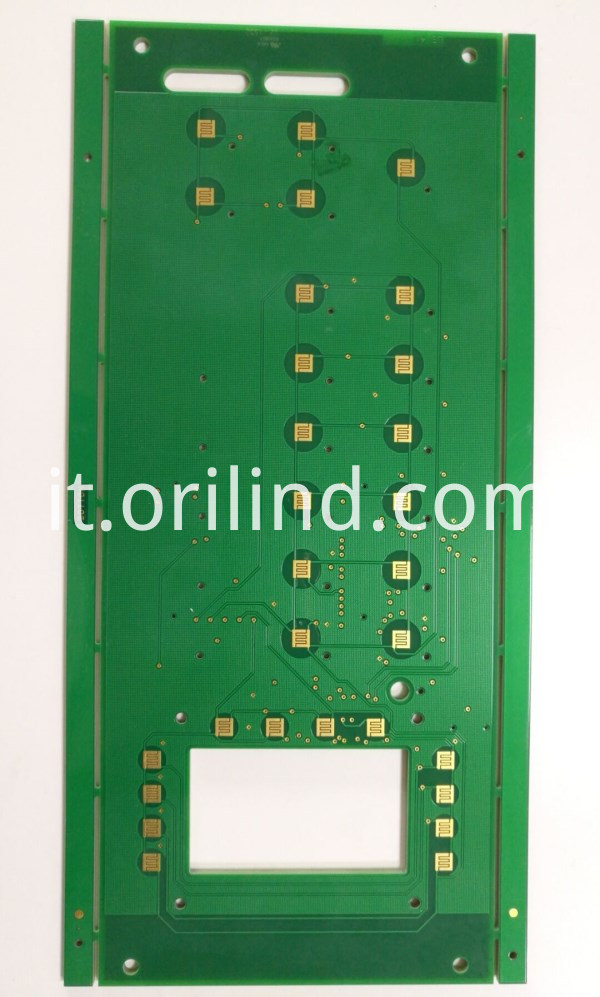 Gold plating pcb board