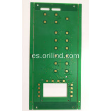 Placa de circuito flash oro