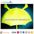 19 inches 8 ribs cartoon umbrellas fluorescent