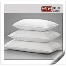 Top Venda Puro Branco Macio e Confortável Onde Comprar Almofadas Hotel