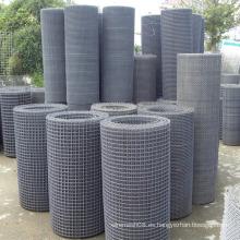 Malla de alambre de hierro prensado en tamaño de rollo