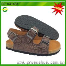 Nouvelle arrivée enfants liège sandales pour l'été (GS-64147)