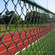 PVC-überzogener Kettenverbindungs-Zaun für Kanada-Markt