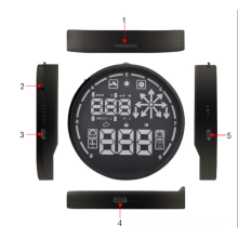 5.5 pouces voiture GPS Hud Head up Display